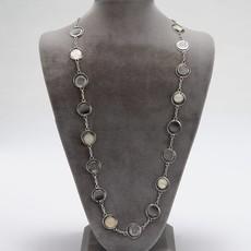 Ten Thousand Villages Whispered Secrets Capiz Necklace