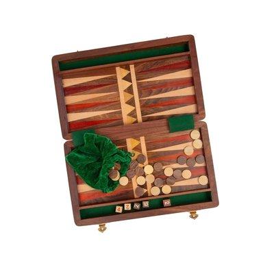 Ten Thousand Villages Wood Backgammon Set