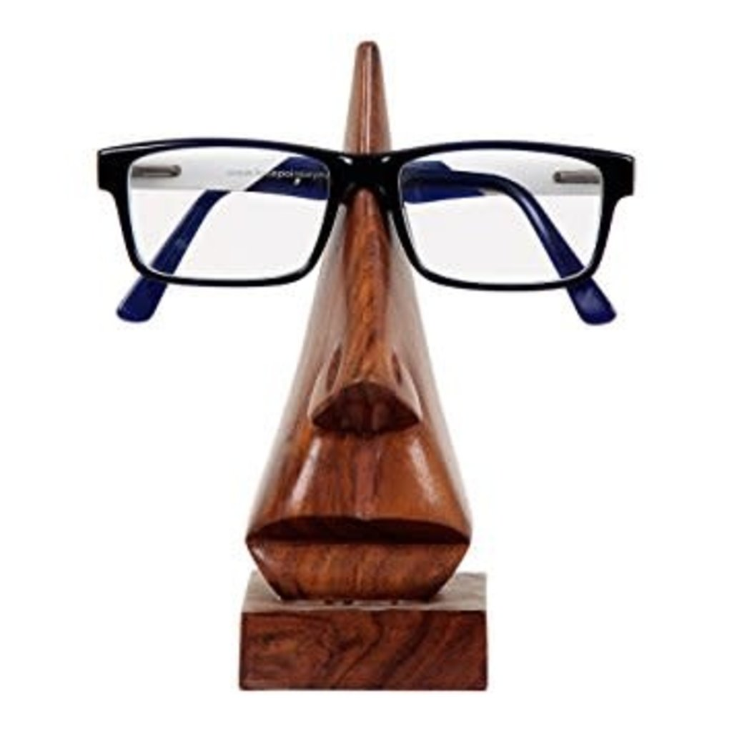 Matr Boomie Wooden Nose Eyeglass Holder