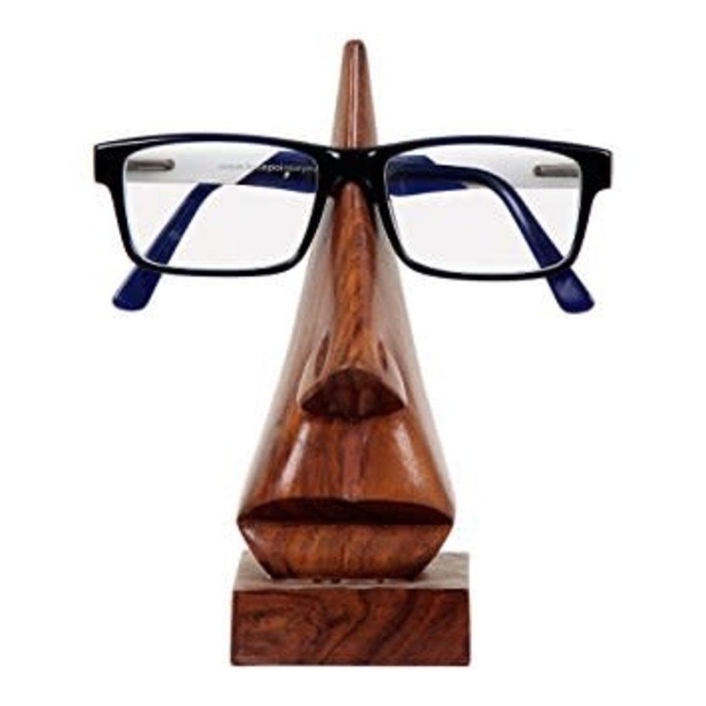 Matr Boomie Wooden Nose Eyeglass Holder