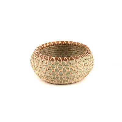 Mayan Hands Yesica Pine Needle and Wild Grass Basket