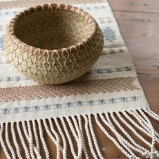 Mayan Hands Yesica Pine Needle and Wild Grass Basket