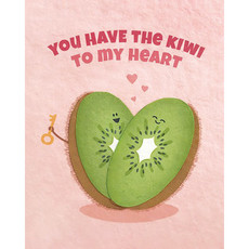 Good Paper Kiwi To My Heart Love Card
