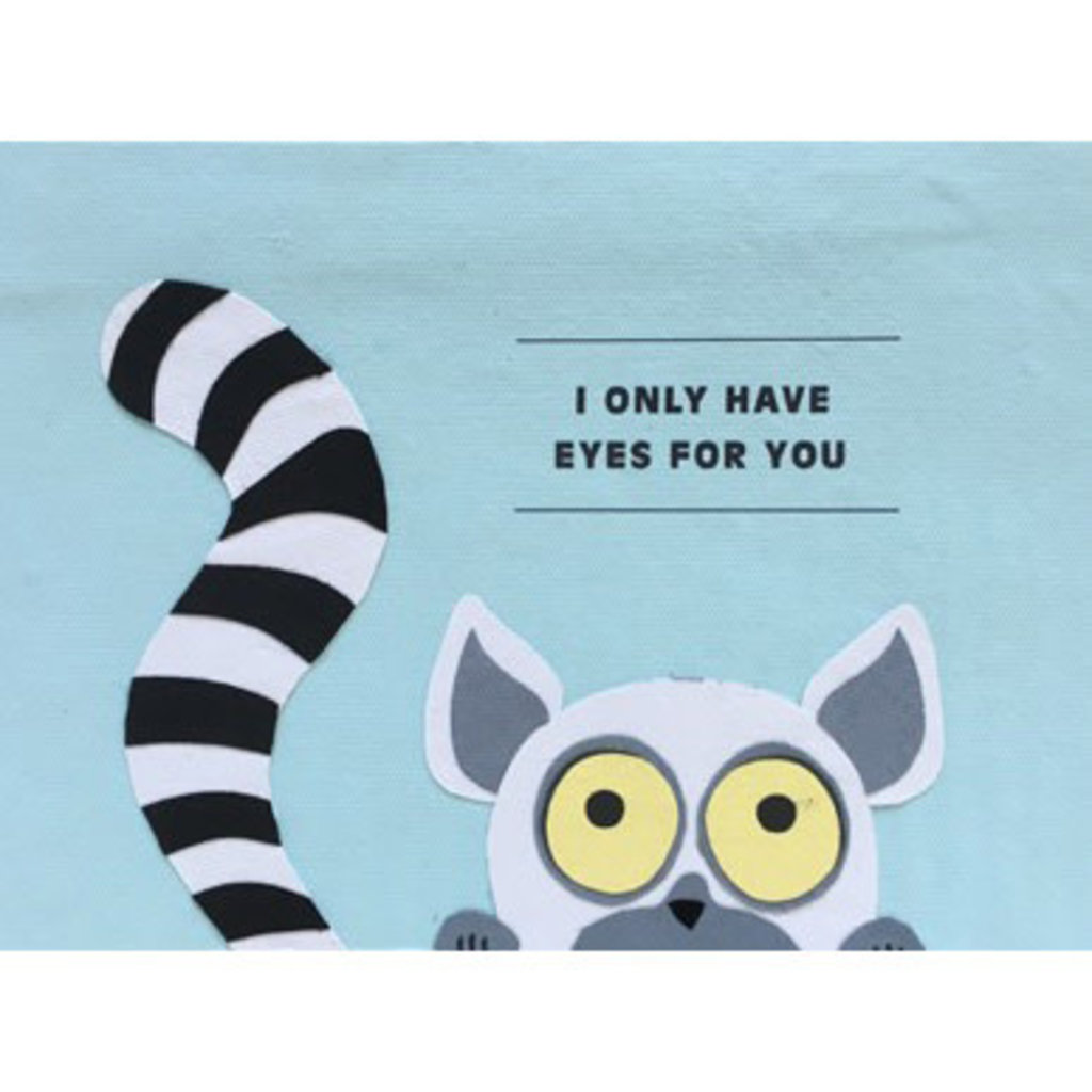 Good Paper Only Eyes For You Card