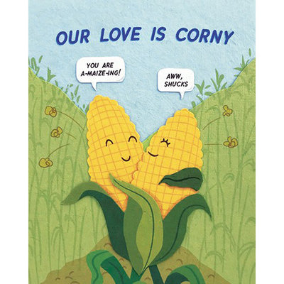 Good Paper Corny Love Card