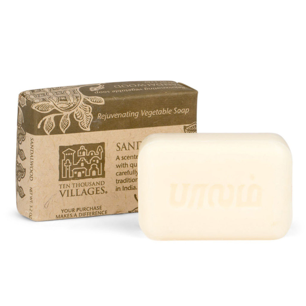 Ten Thousand Villages Sandalwood Soap