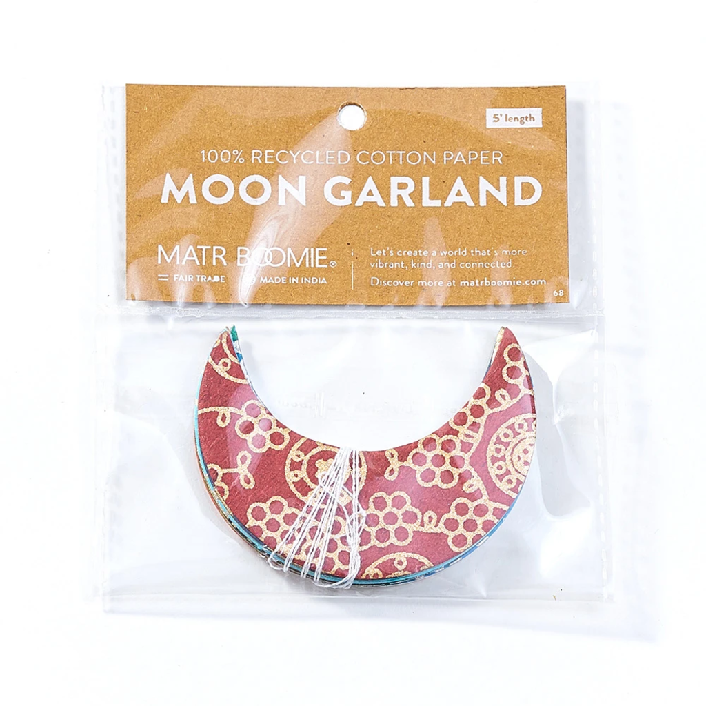 Matr Boomie Metallic Cotton Moons Garland