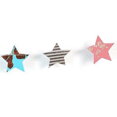 Matr Boomie Metallic Cotton Stars Garland
