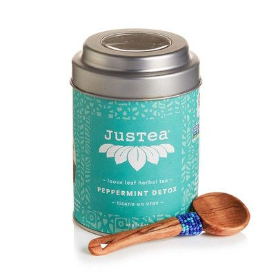 Just Tea Peppermint Detox Loose Leaf Tea