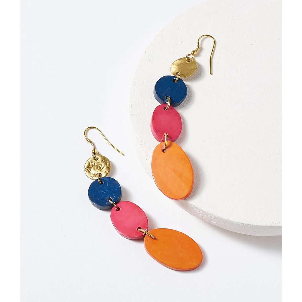 Matr Boomie Ria Multi Drop Earrings
