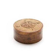 Matr Boomie Wanderlust Mango Wood Pivot Box