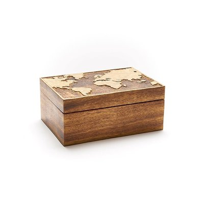 Matr Boomie World Mango Wood Jewelry Box