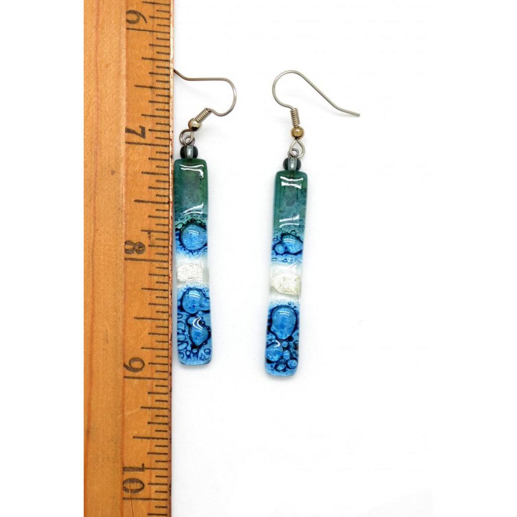 Dunitz & Co Long Stick Assorted Glass Earrings