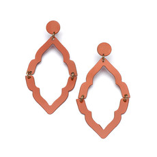 Matr Boomie Nihira Ashram Red Window Earrings