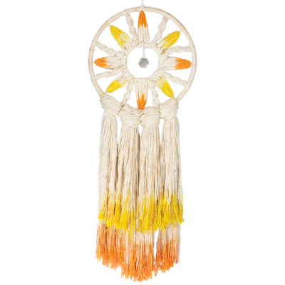 DZI Handmade Solar Rays Dream Catcher