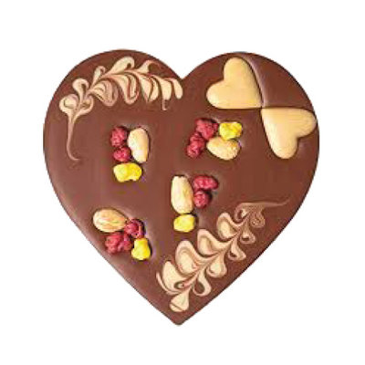Zotter Chocolate Lovey Dovey Milk Chocolate Heart
