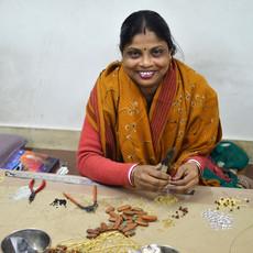 Mata Traders Sunburst Gold Stud Earrings