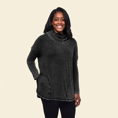 Maggie's Organics Pocket Pullover Poncho One Size