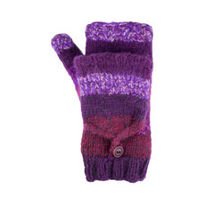 Andes Gifts Funky Fleece-Lined Flittens Assorted