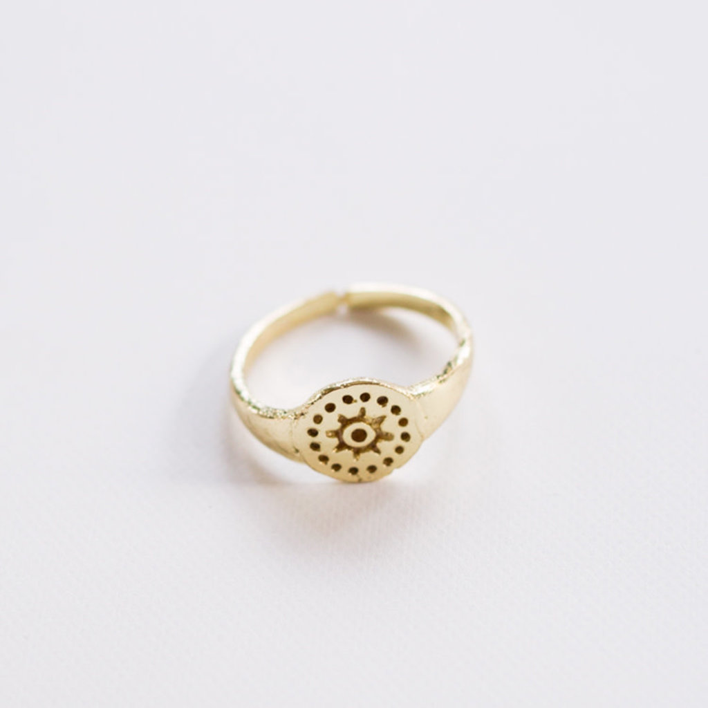 Mata Traders Sunshine Gold Ring