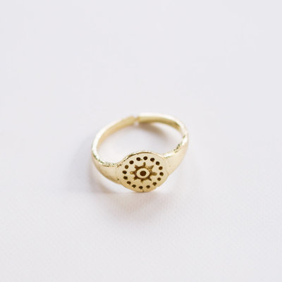 Mata Traders Sunshine Gold Ring