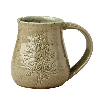 Ten Thousand Villages Tree of Life Ceramic Mug