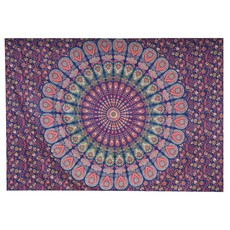 Mira Fair Trade Bohemian Tapestry Ruby