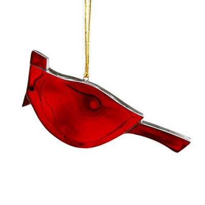 Ten Thousand Villages Cardinal Glass Ornament