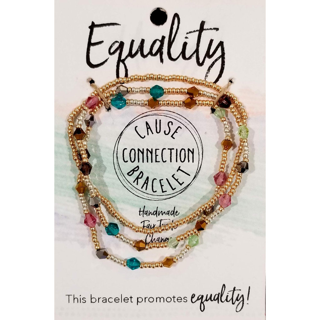 World Finds Cause Bracelet for Equality