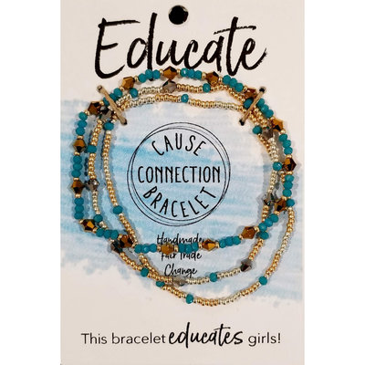 World Finds Cause Bracelet to Educate Girls