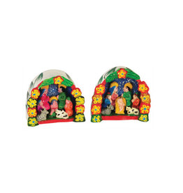 Inter-American Trading Ceramic Deluxe Retablo Nativity