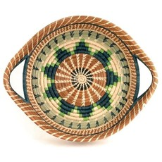 Mayan Hands Chumil Pine Needle and Wild Grass Basket