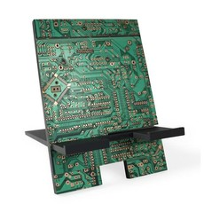 Ten Thousand Villages Circuit Board Book or Device Stand