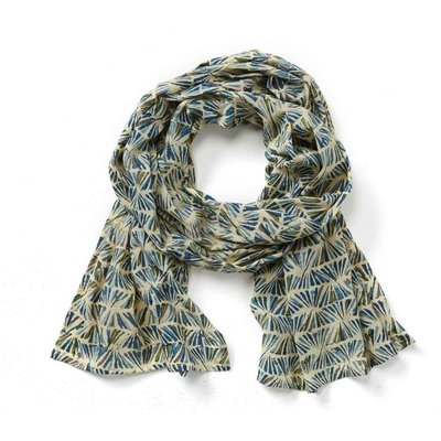 Serrv Cool Kalamkari Cotton Scarf