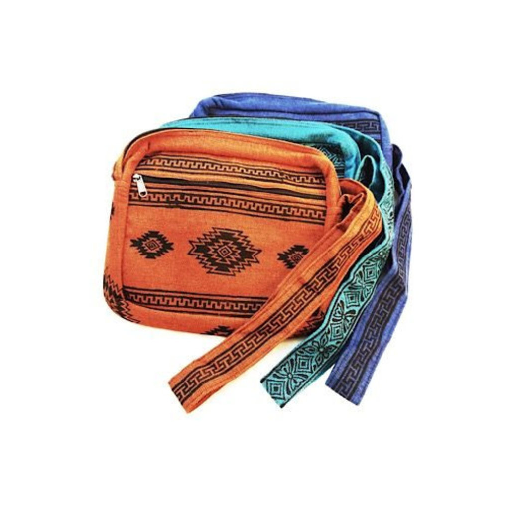 Ganesh Himal Cotton Block Print Shoulder Bag