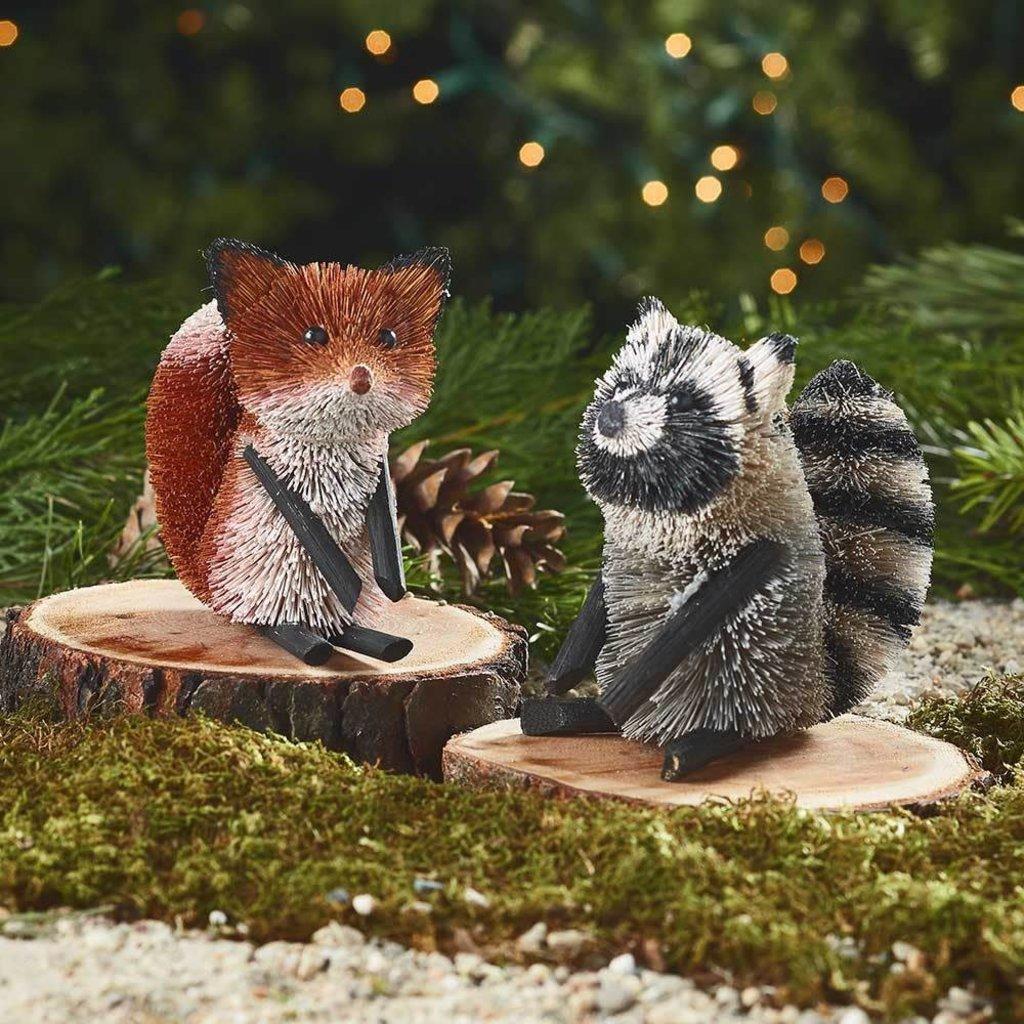 Serrv Curious Racoon Buri Ornament