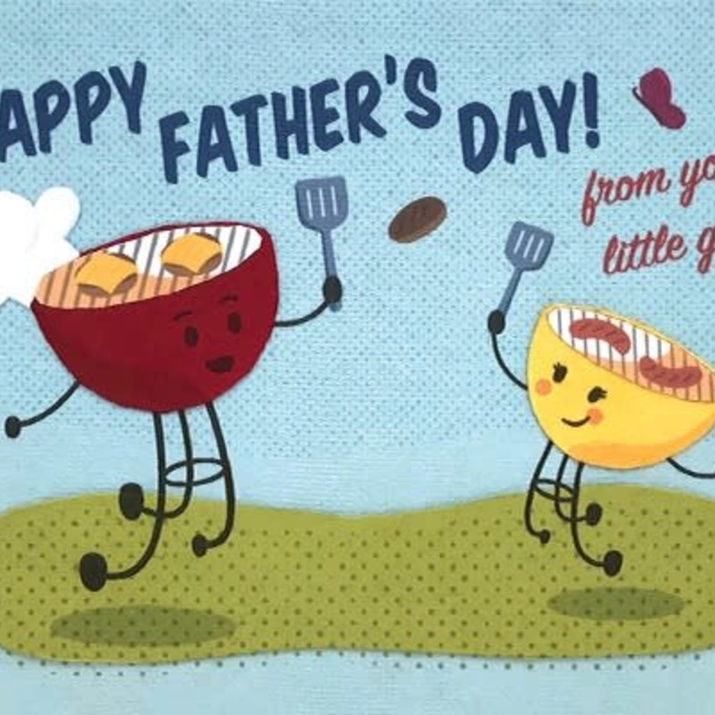 Good Paper Dad's Little Grill Father's Day Card