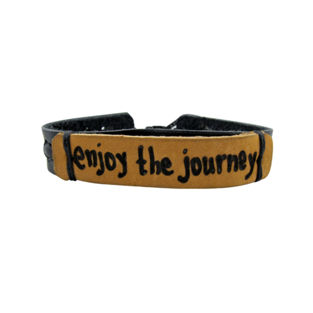 Unique Batik Vibe Bracelet Enjoy the Journey