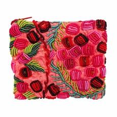 Unique Batik Rococo Embroidered 2-Zip Coinpurse