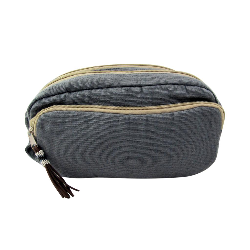 Unique Batik Little Alpha 3-Compartment Crossbody Bag