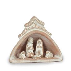 Serrv Domed Terra Cotta Nativity