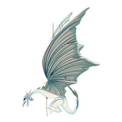Tulia's Artisan Gallery Flying Mobile: Ice Dragon