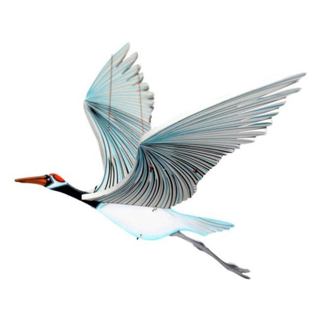 Tulia's Artisan Gallery Flying Whooping Crane Mobile