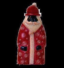 Venture Imports Handcarved Soapstone Santa