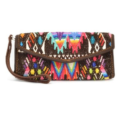 Lucia's Imports Huipile Wallet Wristlet