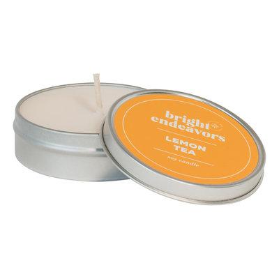 Bright Endeavors Lemon Tea Candle 4 Ounce Tin