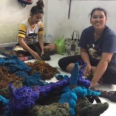 Unique Batik Long Thai Dye Jacket