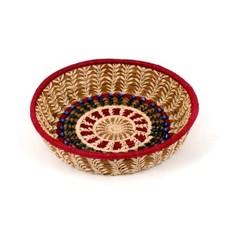 Mayan Hands Lorena Pine Needle and Wild Grass Basket