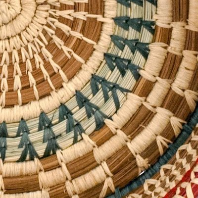 Mayan Hands Manuela Pine Needle and Wild Grass Basket