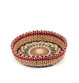 Mayan Hands Manuela Pine Needle and Wild Grass Basket